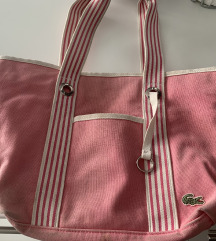 Lacoste pink tasna