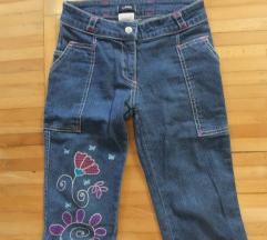 Todor 3/4 pantalone,farmerice kao nove
