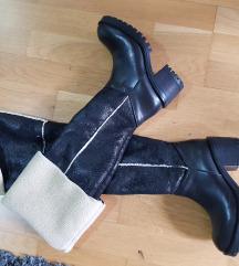Zimske kozne cizme