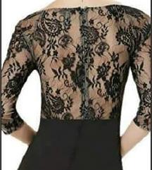 AKCIJA 1500 crna cipkana haljina RASPRODAJA