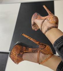 Sandale na visoku štiklu