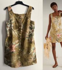 Mango lanena haljina