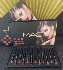 Mac set od 12 mat karmina