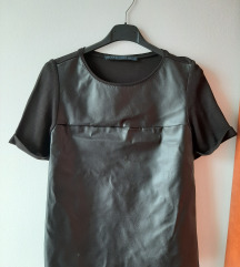 Zara kozna majica XS/S rezervisano