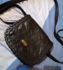 Graceland crna kožna torbica