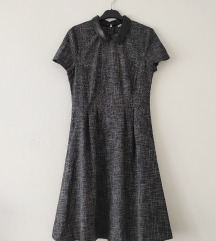 BLACK FRIDAY! ORSAY haljina sa kožnom kragnom NOVO