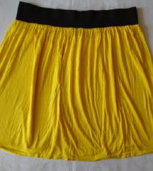 Pamučna suknjica intenzivno žute boje, Orsay
