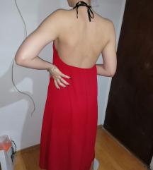 Crvena letnja haljina