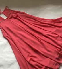 Letnja lepršava haljina sa cirkonima