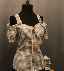 Karirana vintage košulja