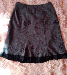 Elegantna zimska suknja XXXL vel