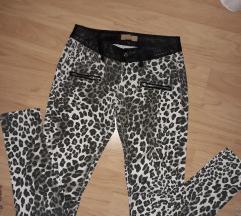 Leopard pantalone animal print