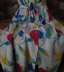 Vintage haljina, prelepih boja