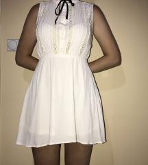 Letnja bela haljina H&M
