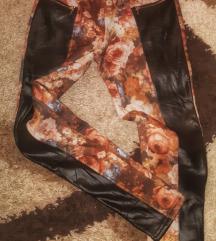 Helanke/pantalone sa floral printom