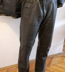 HELD kožne bajkerske pantalone