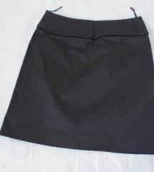 Rene Lezard suknja grafitno crna NENOSENA 36