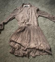 Reserved haljina u animal printu, vel. 34