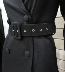 Crna sako haljina nova