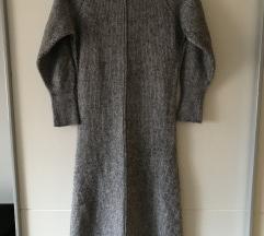 Dzemper- haljina rol kragna