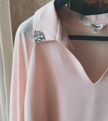 Roze košulja sa kristalima