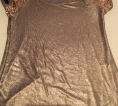 %500 din% Nova Vero moda zlatna majica M
