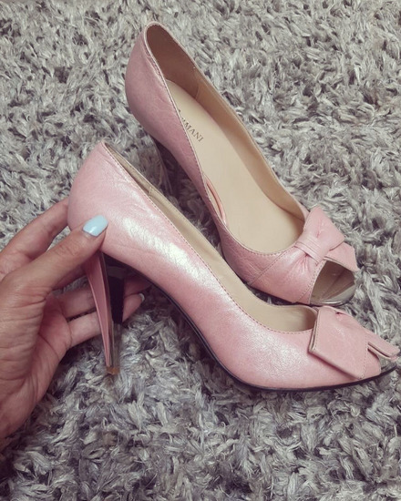 Fermanini original cipele na stiklu
