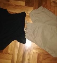Crop i pantalone
