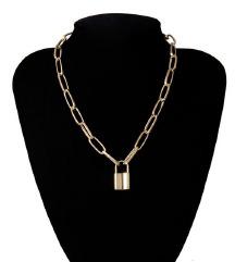 Zlatni KATANAC ogrlica