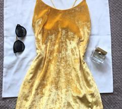 ZARA plisana haljina na bretele M - S KAO NOVA