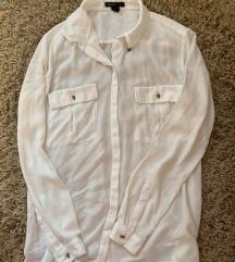 Mango bela košulja