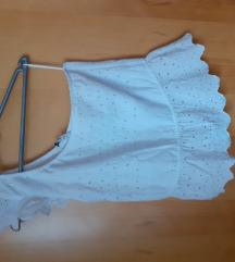 Asimetrična bela bluza