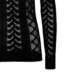 GUESS crna majica dugih rukava