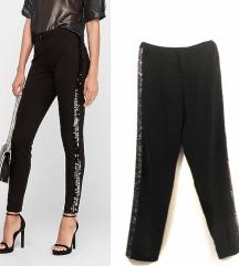 Vero moda crne pantalone