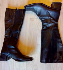 Crne kozne cizme 39