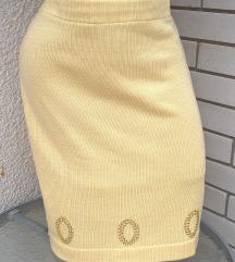 Novo! Zuta suknja Cira Esposita
