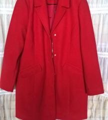 VERO MODA crveni kaput xl jakna 44    NOVO