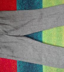 Sive lanene H&M 36 pantalone