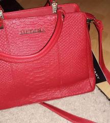 Tiffany crvena torba sa etiketom