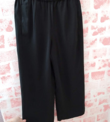 Nove H&M crne široke pantalone