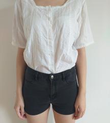 Bela vintage bluza