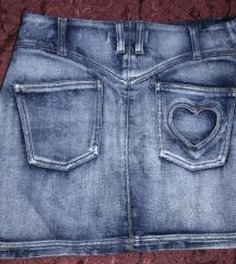 ✫  Teksas suknja Roberto Cavalli  original