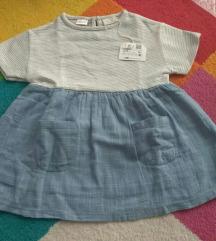 Zara haljina sa etiketom od 9-12 meseci