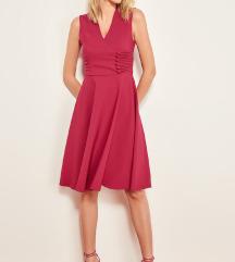 Vintage roze haljina novo