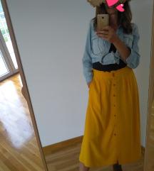Nova suknja na kopcanje
