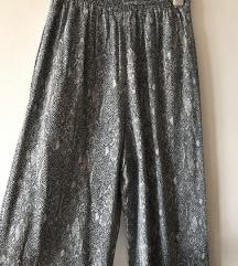 Pantalonice od viskoze sa zmijskim printom