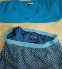 Trikotazna bluza i suknja , rasprodaja