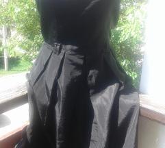 ZARA basic crna haljinica
