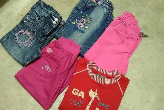 Za devojcicu Veličina 4 Farmerke Pantalone Duks