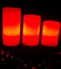 Fenomenalne svece-lampe koje menjaju boju